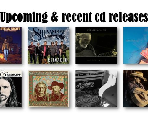 Upcoming and recent cd releases