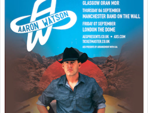 US country star Aaron Watson returns to the U.K. in September