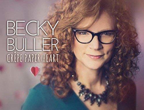 BECKY BULLER Crepe Paper Heart