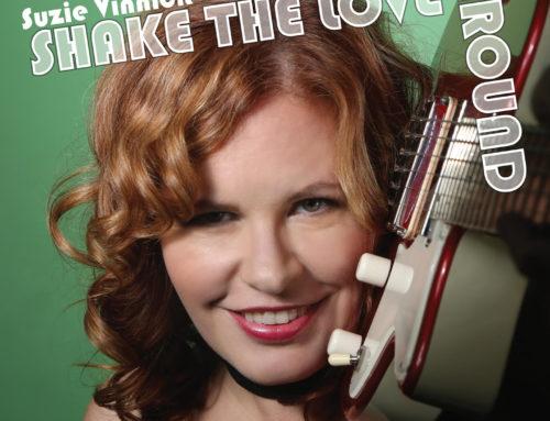 """SUZIE VINNICK """"Shake The Love Around"""""""
