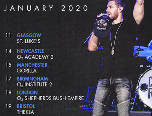 CHASE RICE ANNOUNCES UK & EUROPEAN HEADLINE SHOWS IN JANUARY 2020