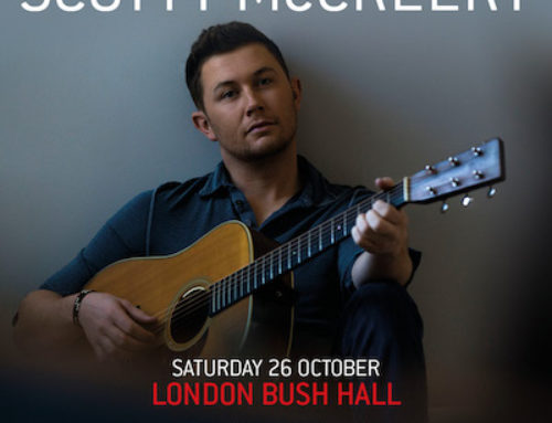 SCOTTY MCCREERY ANNOUNCES DEBUT UK & EUROPE SHOWS THIS OCTOBER