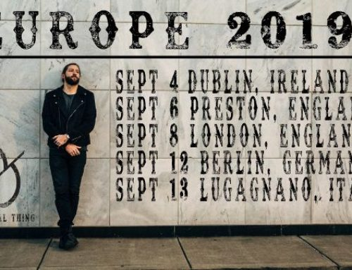 DREW DIXON ANNOUNCES DEBUT EUROPEAN SHOWS
