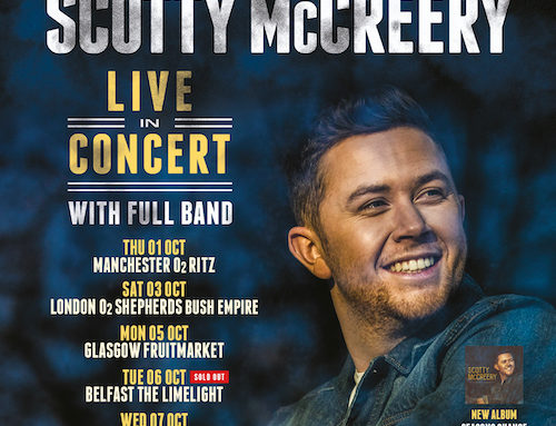 SCOTTY McCREERY POSTPONES UK AND IRELAND CONCERT TOUR FROM MAY TO OCTOBER