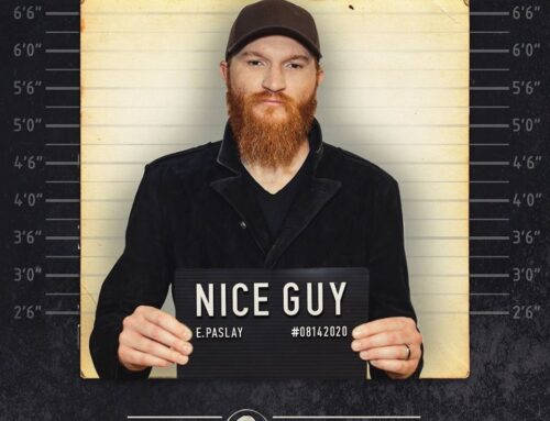 ERIC PASLAY TO RELEASE NICE GUY STUDIO ALBUM ON AUGUST 14th